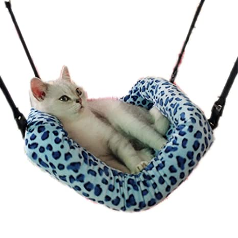 PLQ Gato, Hamaca, Leopardo, Mascota, Gato, Colgante, Suave, Hamster