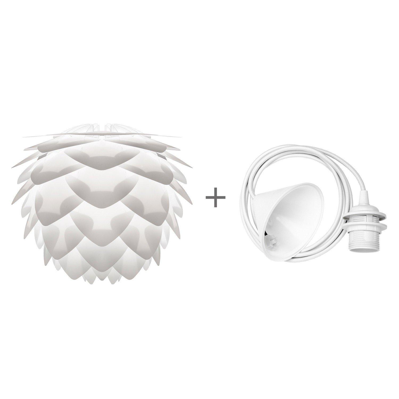 Leuchte Vita Conia Mini Lampe Weiß+ Kabelset Weiss Led ähnlich Silvia