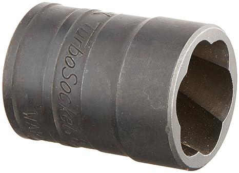 SK Hand Tool 824S 19mm - 3/4-Inch Standard Drive Socket Turbo,