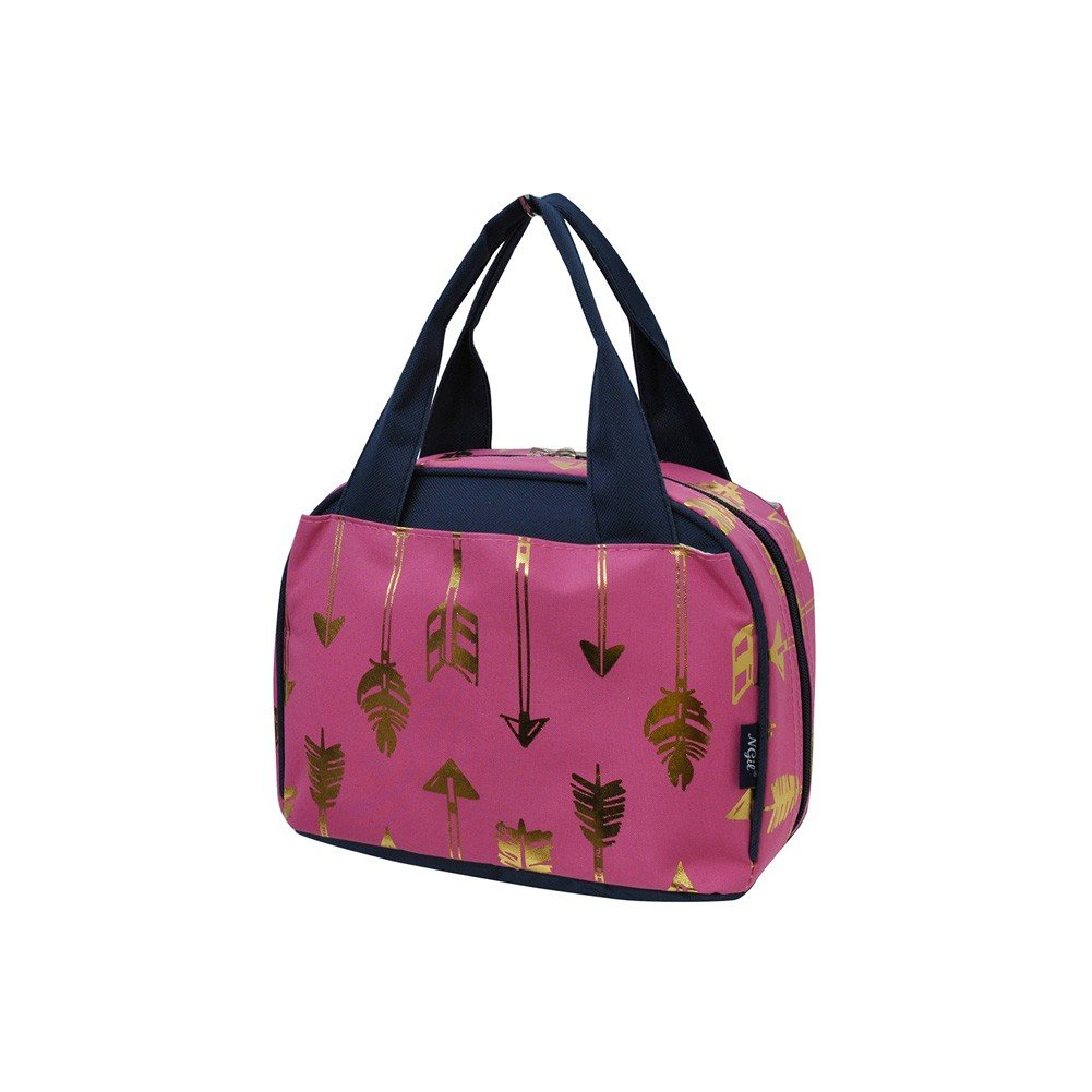 Gold Arrow Pink NGIL Insulated Lunch Bag GARB255/_004