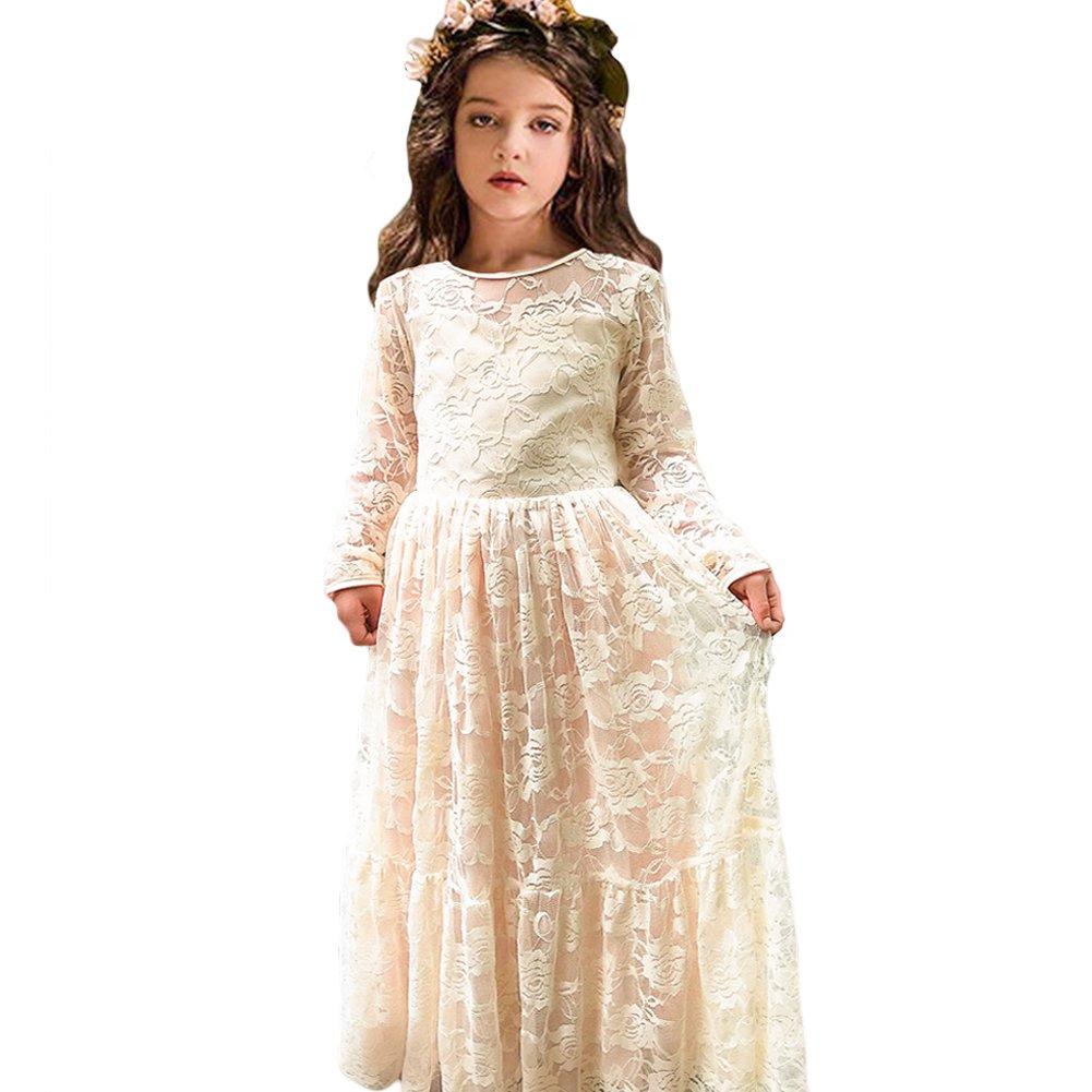 Ivory Long Sleeve Dress