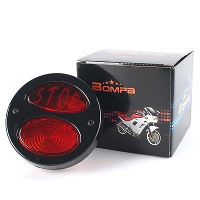 LED Motorcycle Tail Light Integrated Blinker Universal Fit 12V for Harley Honda Yamaha Suzuki Kawasaki etc: Automotive