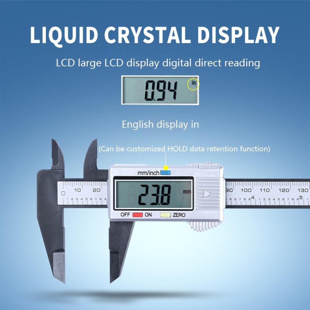 HCFKJ Beliebte 150 Mm 6 Zoll Lcd Digital Elektronische Messschieber Mikrometer