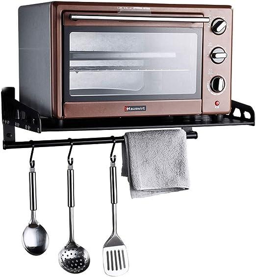 Cocina Horno microondas Estante Montado en la pared Hogar ...