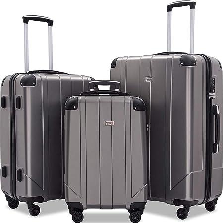 Merax Ergonomic Luggage Set