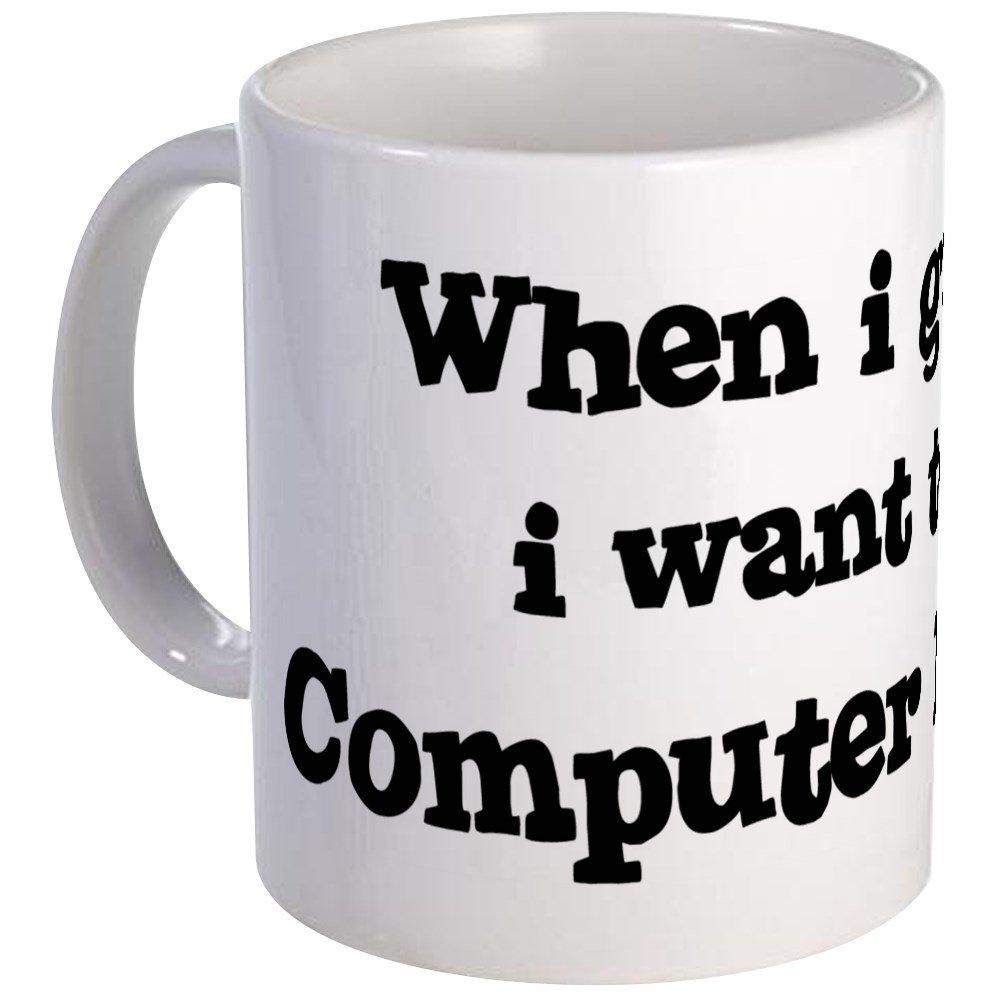010777ccfd7 Amazon.com: CafePress - Be A Computer Engineer Mug - Unique Coffee Mug,  Coffee Cup: Kitchen & Dining