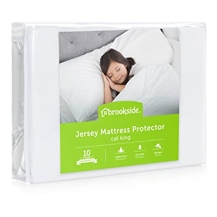 Amazoncom Brookside Soft Jersey Mattress Protector Waterproof