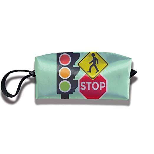 8e9ba3a53dbc Amazon.com  Coin Pouch Traffic Light Pen Holder Clutch Wristlet Wallets  Purse Portable Storage Case Cosmetic Bags Zipper  Clothing