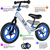 #1: (4 LBS) Balance Bike for Kids and Toddlers - ALUMINUM Light Weight No Pedals Push and Stride Walking Bicycle