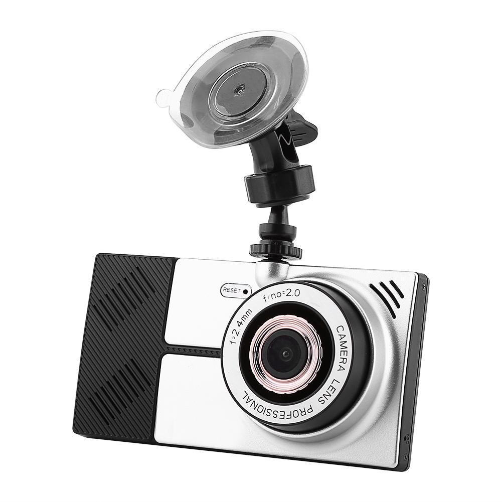 Qiilu 5 Inch Full HD Car DVR Camera Video Recorder 8GB 4-Core Wifi GPS Navigation for Android System
