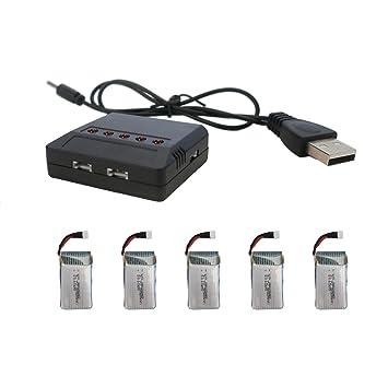 Le Idea USB cargador de batería para Drone Quadcopter x5 C ...