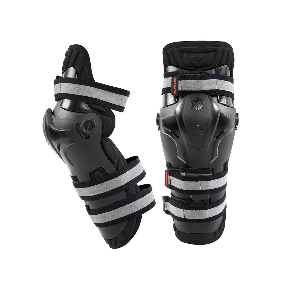 SCOYCO Motorcycling Knee Guard,Shock-Resistant Knee Protector with CE Certificated PP Shell,for Extreme Sport Equipment