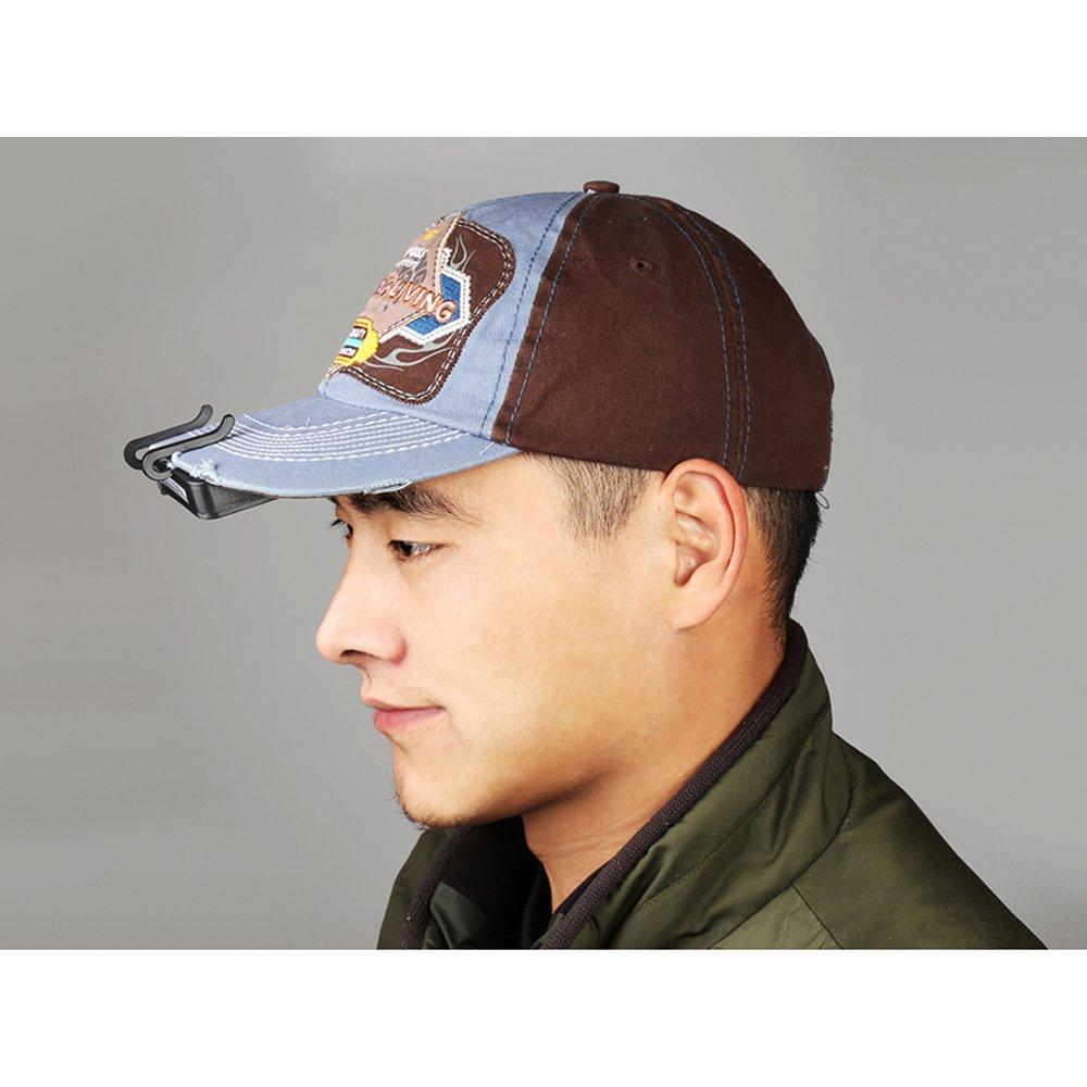 egoera/® 11/LED Clip de pl/ástico en sombrero Cap Luz manos libres linterna recargable Operted luz para pesca//Camping//actividades al aire libre