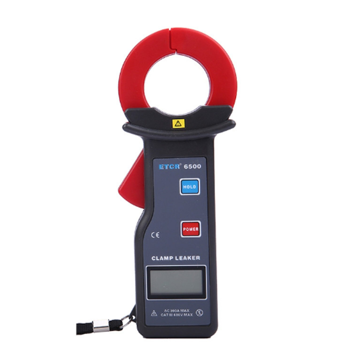 AIYU-MAOYI 0~300A High Accuracy Digital Clamp Meter Leakage Current Measurement with RS232 Interface 500 Datas Storage ETCR6500