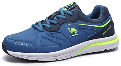 Camel Mens Road Running Shoe Lightweight PU Sneakers as Casual Fashion  Tennis Athletic Fitness Walking Shoes 3490e66f7bd