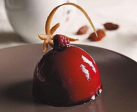 Molde para chocolate, diseño de bola de 6 medias esferas-Bandeja de horno de