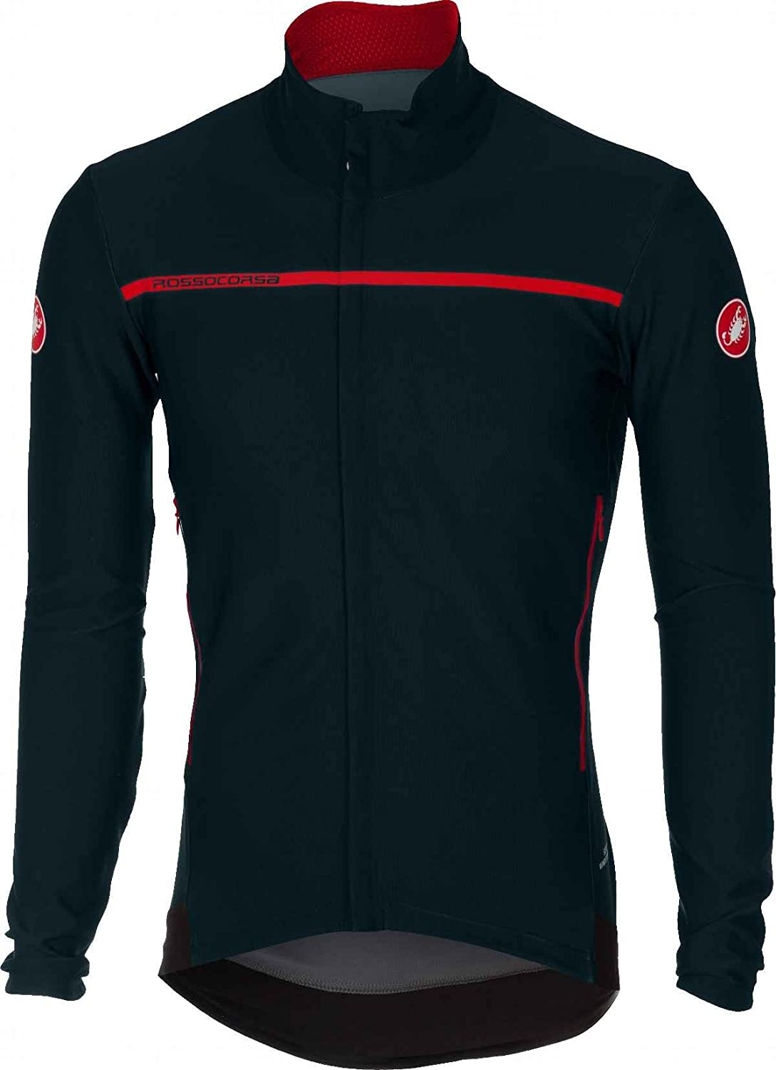 Amazon.com   Castelli 2016 17 Men s Perfetto Long Sleeve Cycling Jacket -  B16507   Sports   Outdoors cb8c12164