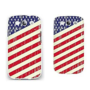 Retro Usa Flag American Print Designed Personalized Cell Phone Case Cover Skin for Samsung Galaxy S3 WANGJING JINDA