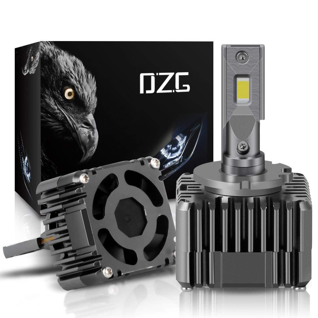 2 Lampen D3S HID Kit Scheinwerfer-Umr/üstsatz Birne f/ür Entladungslampe 100W 6000K 11000Lm Super Hell Xtreme Wei/ß 12V Auto Licht 2 Jahre Garantie DZG D1S Xenon