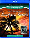 NatureVision TV's Earthscapes - World's Most Beautiful Sunrises & Sunsets [Blu-ray]