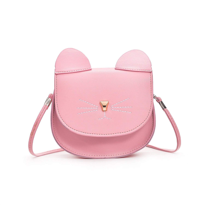 Bag Cute Cat Messenger Shoulder Women Crossbody Handbag Bags Leather Purse 2018
