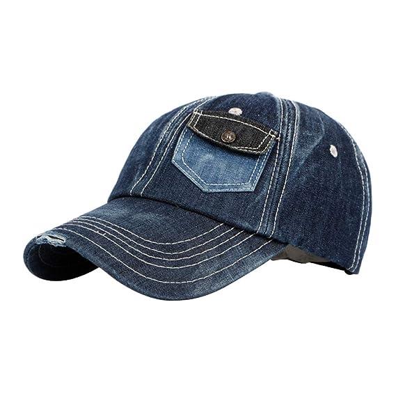 BIGBOBA. Gorras de Béisbol Unisex Vaqueroel Verano Sombreros de ...