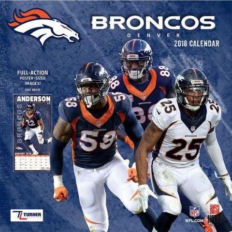 2018 Denver Broncos NFL Sports TEAM Wall (Tom Brady Player Wall Graphic)