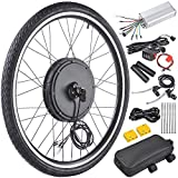 "Best Electric Bicycle Conversion Kits - AW 48V 1000W 26"" Front Wheel Electric Bicycle Review"