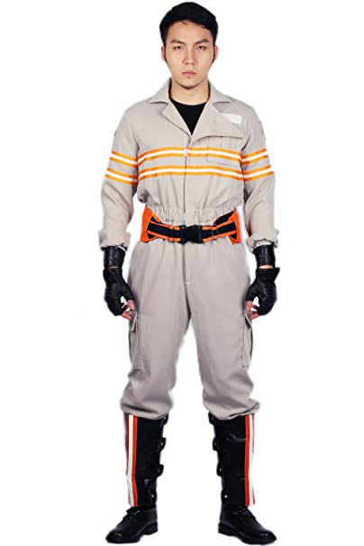 Family Adult Ladies Mens Kids Boy Girl Ghostbusters Halloween Costume S M L XL