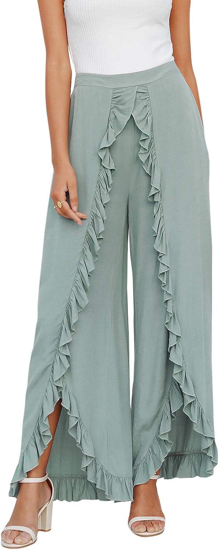 Palazzo Pants Loose Pants Jumpsuit Women Pants Skirt High Waist Pants Wide Leg Pants Maxi Pants