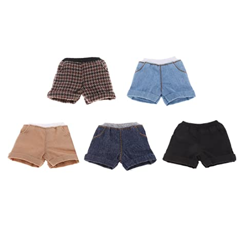 1//6 Scale Shorts Pants Clothes for 12-inch Neo Blythe Doll Clothes Toy Gifts