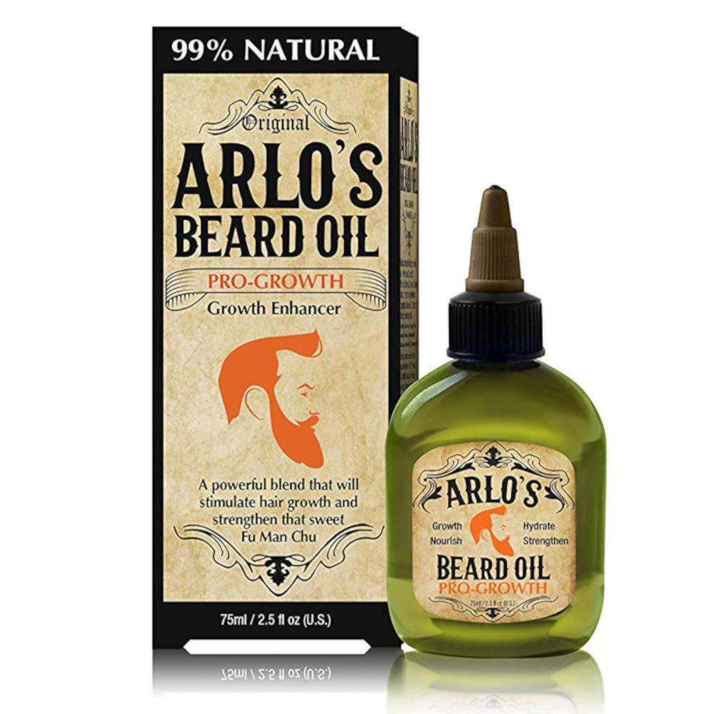 Amazon.com: Aceite de barba de Arlo – Pro Crecimiento 2,5 oz ...