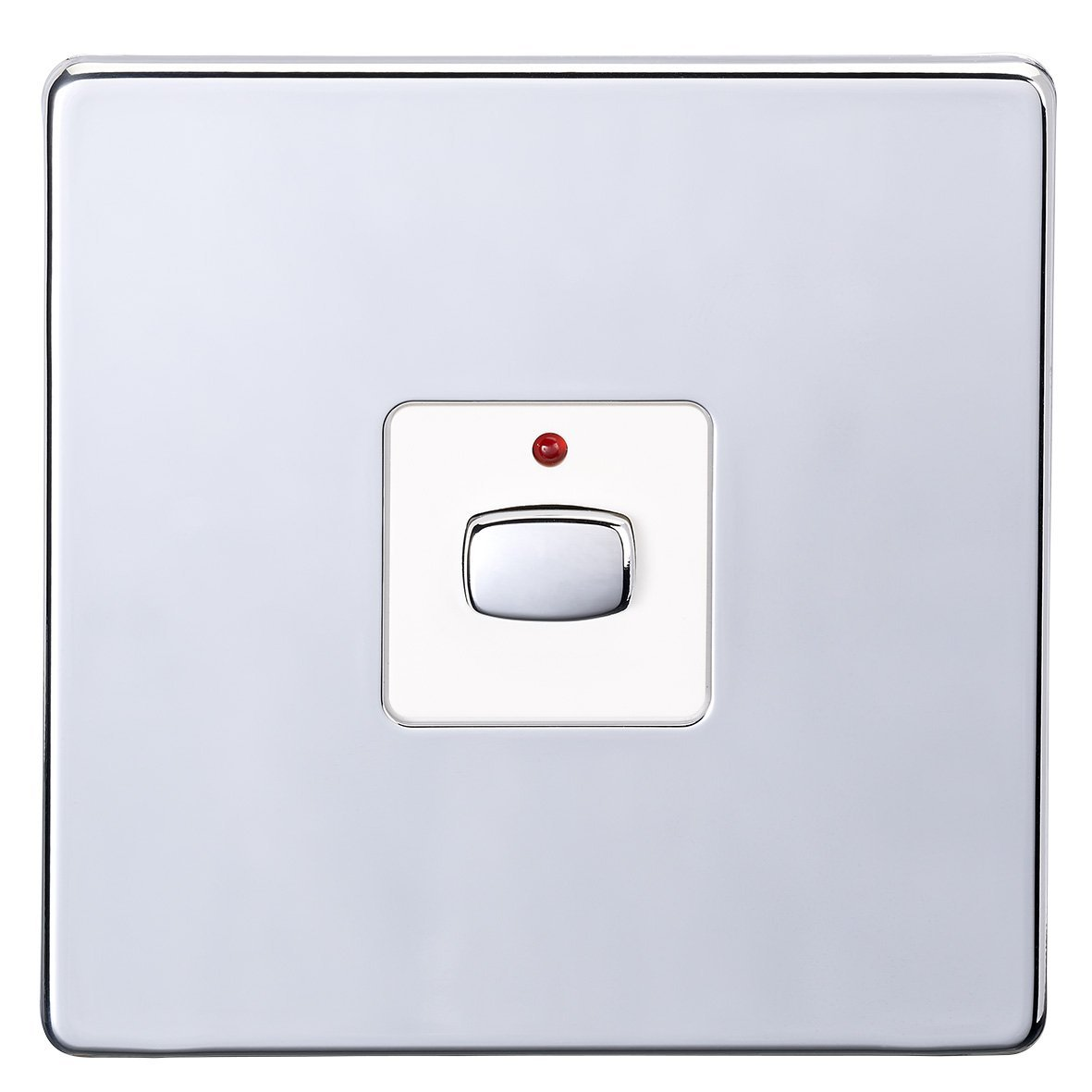 Energenie Miho025 Mi Home One Gang Light Switch Chrome Amazonco Wiring A Table Lamp Uk Diy Tools