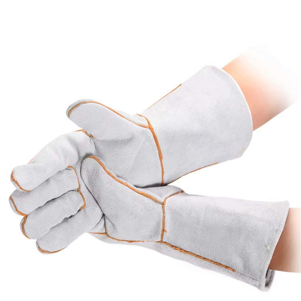 gloves Long WriGW Protect Heatproof Oven Hold Burning hot Dishes Safely! Heavy Duty Oven Mitts for Professional and Kitchen Use
