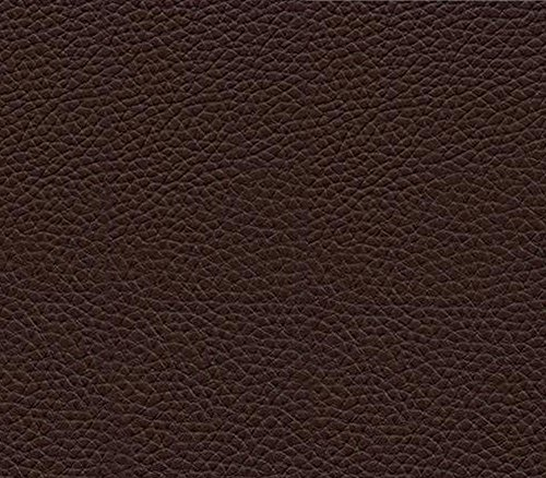 Brown Leather Upholstery - Vinyl Fabric Champion Dark Brown Fake Leather Upholstery / 54