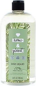 Love Home and Planet Vetiver & Tea Tree Purely Pristine Dish Soap 24 Fl. Oz