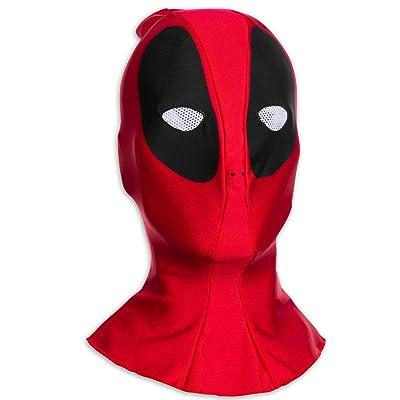 AC/DC z876415 Marvel Deadpool Máscara, Transparente: Juguetes y juegos
