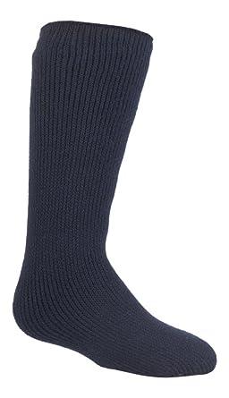 27-33 eur Childrens Heat Holders Thermal Socks Boys Girls Red 9-1 uk