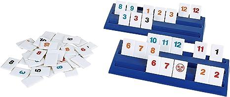 PRESSMAN - The Original Rummikub Fast Moving Rummy Tile - 1 Game: Amazon.es: Juguetes y juegos
