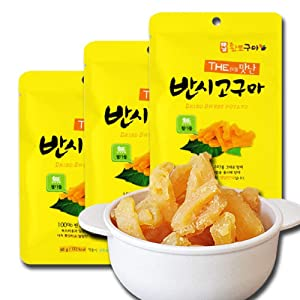 Korean Dried Sweet Potato 60g x 15packs 고구마 말랭이