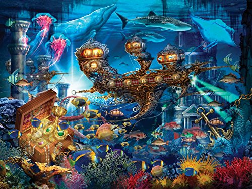 Ceaco Ciro Marchetti - Magical World - Atlantis Express Puzzle