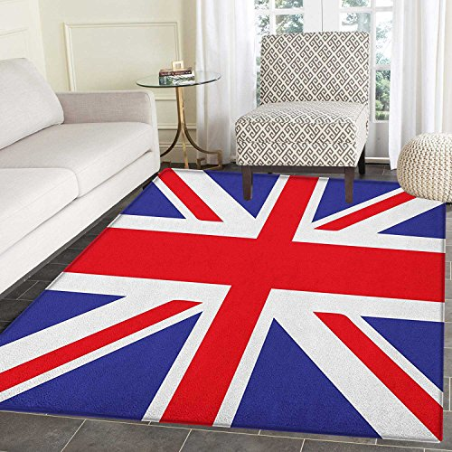 Union Jack Area Rug Carpet Classic Traditional Flag United K