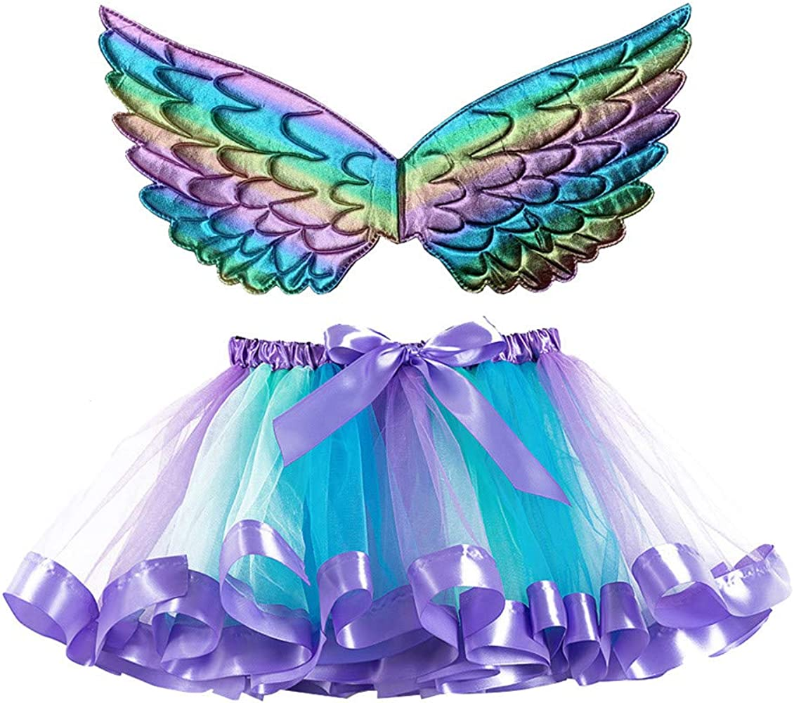 Falda de Tul Niña Bebe Carnaval Vestido Falda Tutu Niña Colores ...