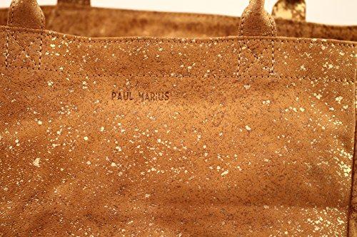 Sparkling Marius Gold Mon Tote Partenaire Vintage Bag Handbag Paul Shopping Leather M 7HwfwaxE