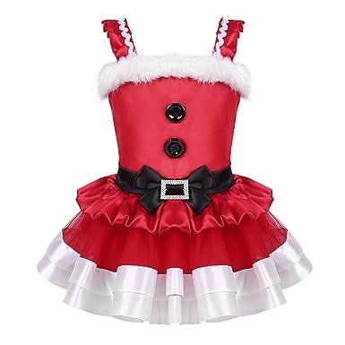 iiniim Vestido de Navidad Niña Bebé Recién Nacido Tutú sin ...