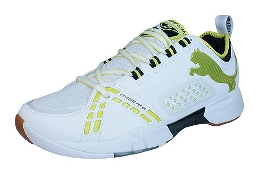 Puma - Zapatillas de balonmano para hombre blanco 36