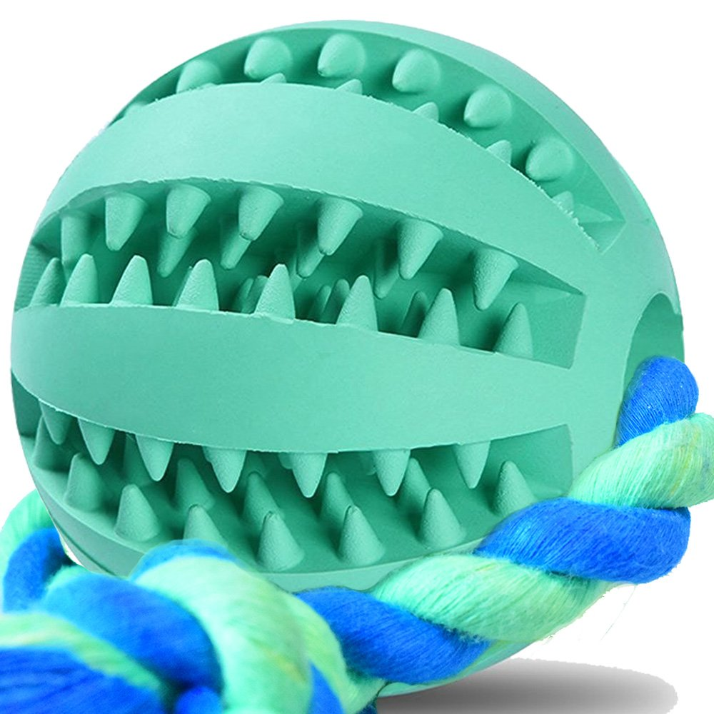 Dog Ball on Rope Training Toy and Mental Treatment Tool for Separation Anxiety
