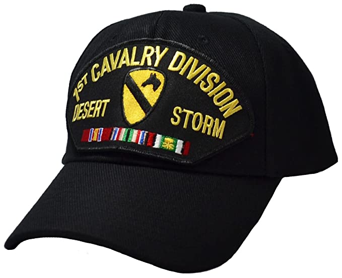 a77ec2b3 Military Productions 1st Cavalry Division Desert Storm Cap
