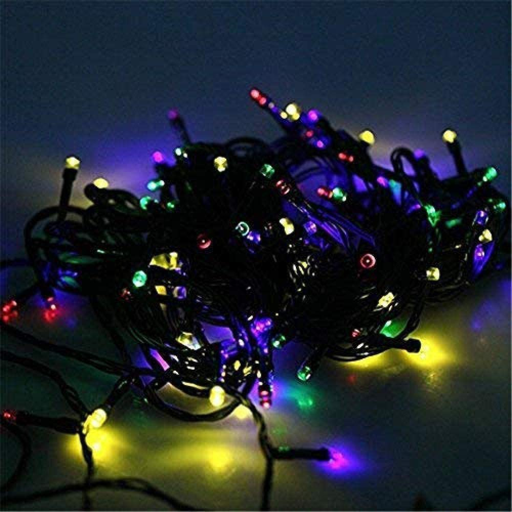 100-500 LED Solar String Lights Blossom Fairy Lights for Outdoor Christmas Tree