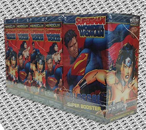 DC HeroClix: Superman and Wonder Woman Booster - Pack Superman Booster